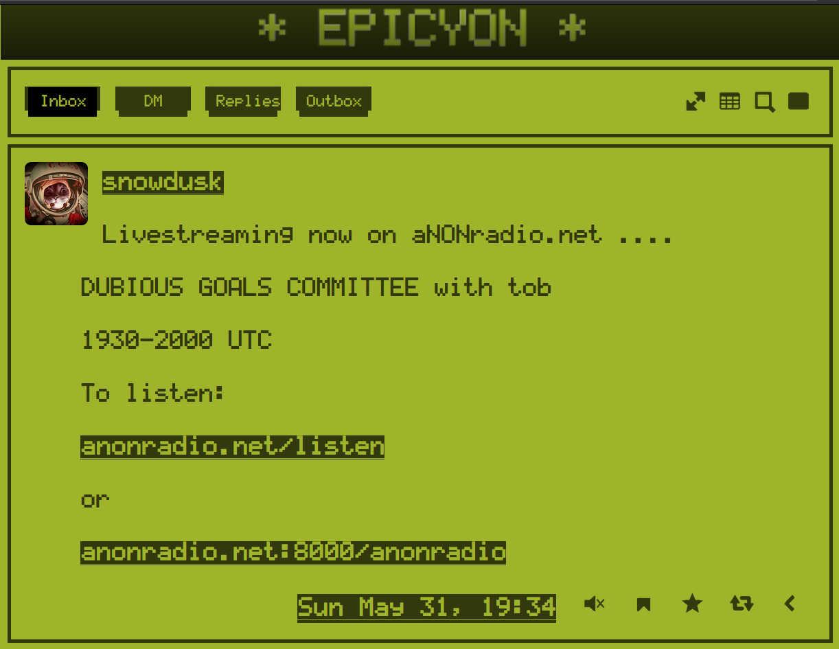 Epicyon LCD theme